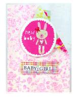 'New Baby Girl' Card