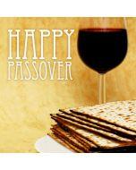 PASSOVER Card - Red Wine & Matzos