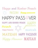 PASSOVER Card - Happy and Kosher Pesach