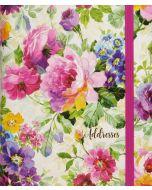 Address Book (Large) - Peony Garden