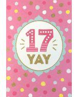 AGE 17 - '17 Yay' spots