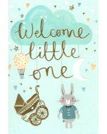 Baby BOY - Bunny & Pram