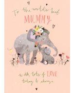 MUMMY Card - World's Best Mummy