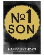 Birthday Card - No. 1 SON