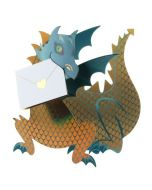 3D Greeting Card - Ember the Dragon
