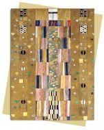 The Knight, Geometric Design by Gustav Klimt