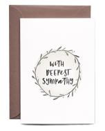 Sympathy Wreath Card