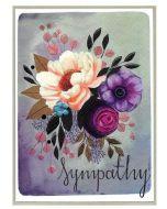 Sympathy Card - Floral Bunch