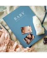 Baby Journal Blue - The First Five Years