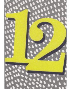 '12' Card