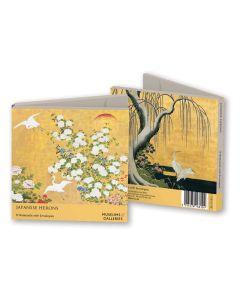 Notecard Wallet - Japanese Herons