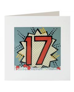 '17' Card