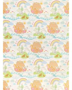 Folded Wrapping Paper - Noah's Ark
