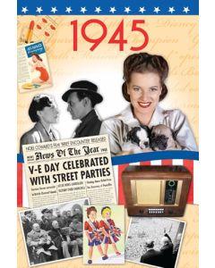 DVD Card - 1945