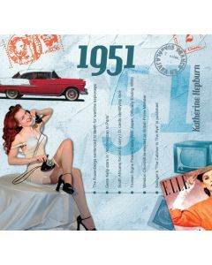 1951 CD Card