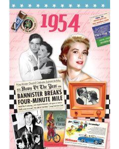 DVD Card - 1954