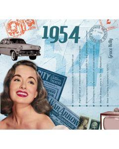 CD Card - 1954