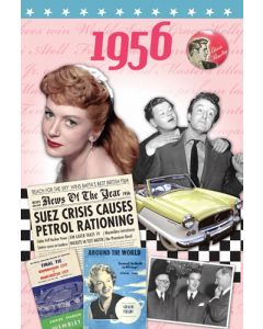 DVD Card - 1956