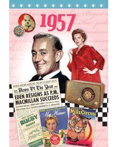 DVD Card - 1957
