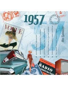 CD Card - 1957