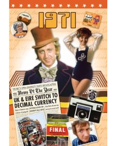 1971 DVD Card