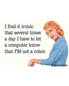 Magnet - Not a Robot