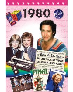 1980 DVD Card