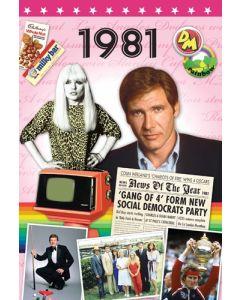 DVD Card - 1981