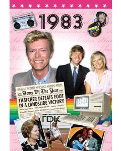 DVD Card - 1983
