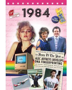 1984 DVD Card