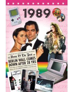 1989 DVD Card