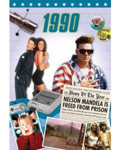 1990 DVD Card