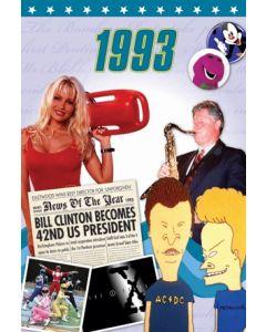 1993 DVD Card