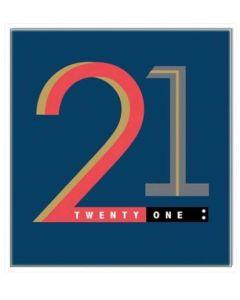 21st Birthday - Bold '21'