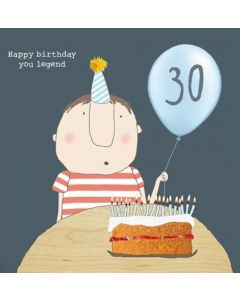 30th Birthday Card - Legend