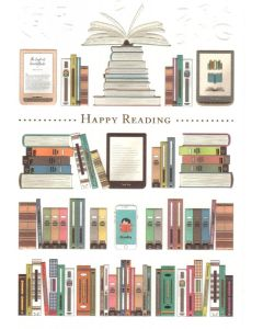 Greeting Card - Happy Reading