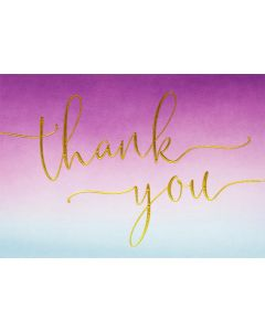 Boxed Thank You Cards - Amethyst