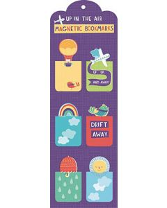 Up In The Air - Magnetic Bookmarks