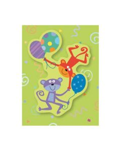 Monkeys mini card