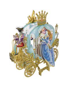 3D Card - Cinderella's Carriage