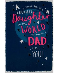 Father's Day Card - From DAUGHTER