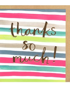 THANK YOU Card - Thanks So Much