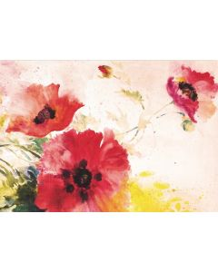 Boxed Notecards - Watercolour Poppies