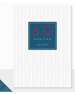 60th Birthday - 60 Amazing Years