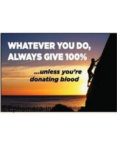 Magnet - Always Give 100%