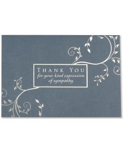 Boxed Thank You Cards - Kind Expression of Sympathy