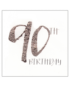 '90th Birthday' Card