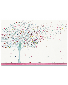 Tree of Hearts Notecard Box