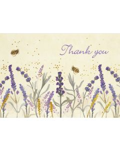 Lavender & Honey Thank you Notecard Box