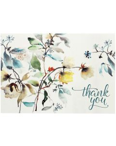 Boxed Thank You Cards - Asian Botanical